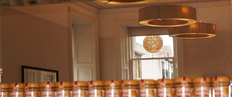GPO peanut butter jars