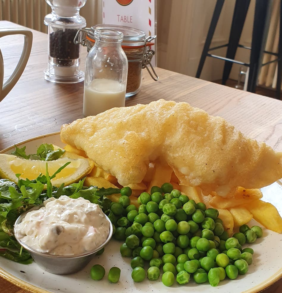 Cafe GPO Leith Fish & Chips