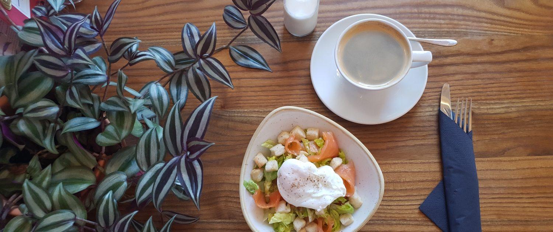 Breakfast Salmon & Poached Eggs