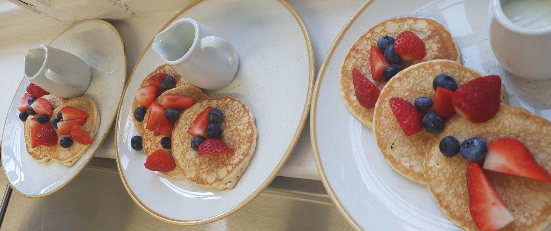 Breakfast Pancakes GPO Cafe